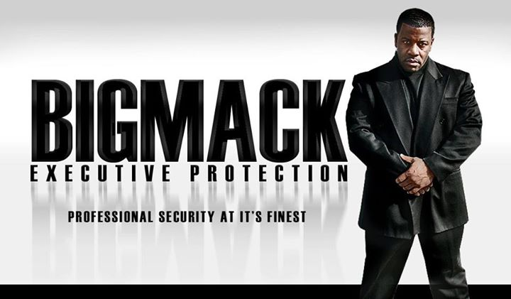 Blaque Technology Personal Security/ Actor Big Mack