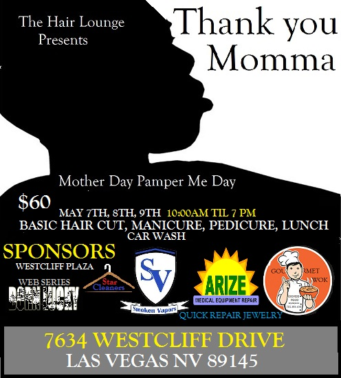 Thank You Momma Pamper Me Day