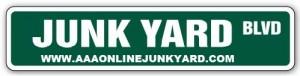 online-junkyard-sign