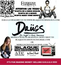 How to Become a D R U G S Clothing Drug Dealer and Model – Blaque